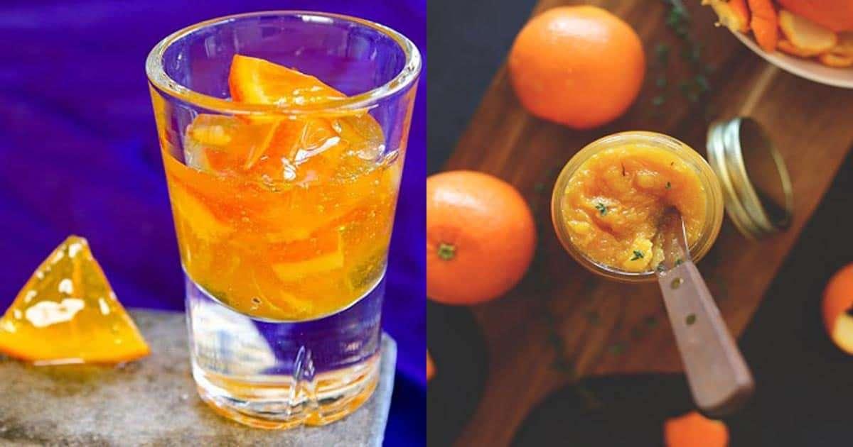วิธีทำแยมส้ม,แยมผิวส้ม