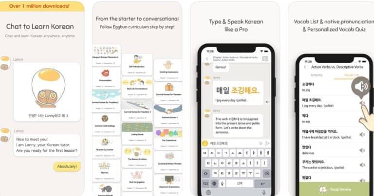 แอพฝึกภาษาเกาหลี,แอพเรียนภาษาเกาหลี