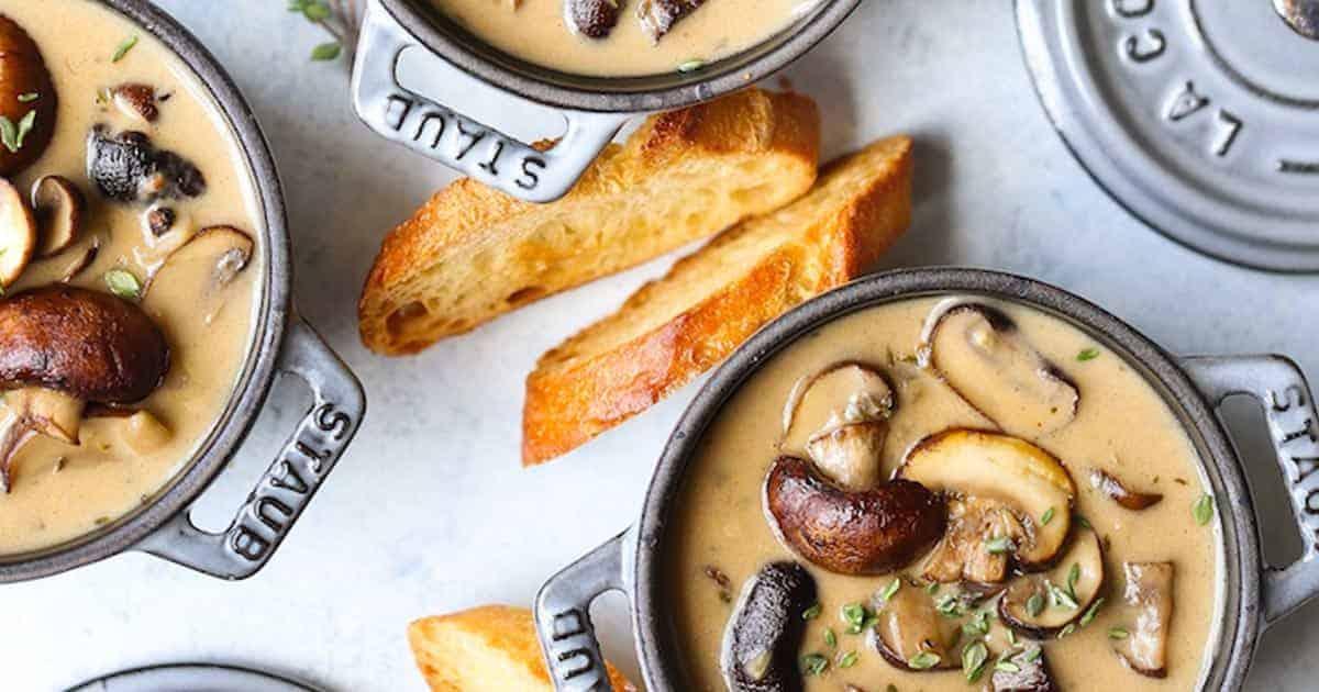 ซุปเห็ด วิธีทำ, วิธีทำซุปเห็ด