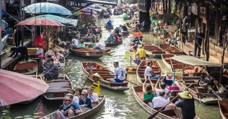 ตลาดน้ำใกล้ กทม, ตลาดน้ำใกล้กรุงเทพ