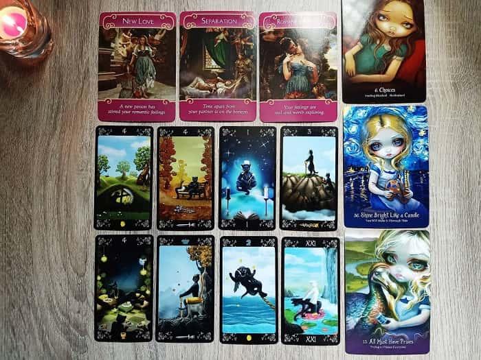 Pick a card, คนที่ฟ้าส่งมาให้รักกัน