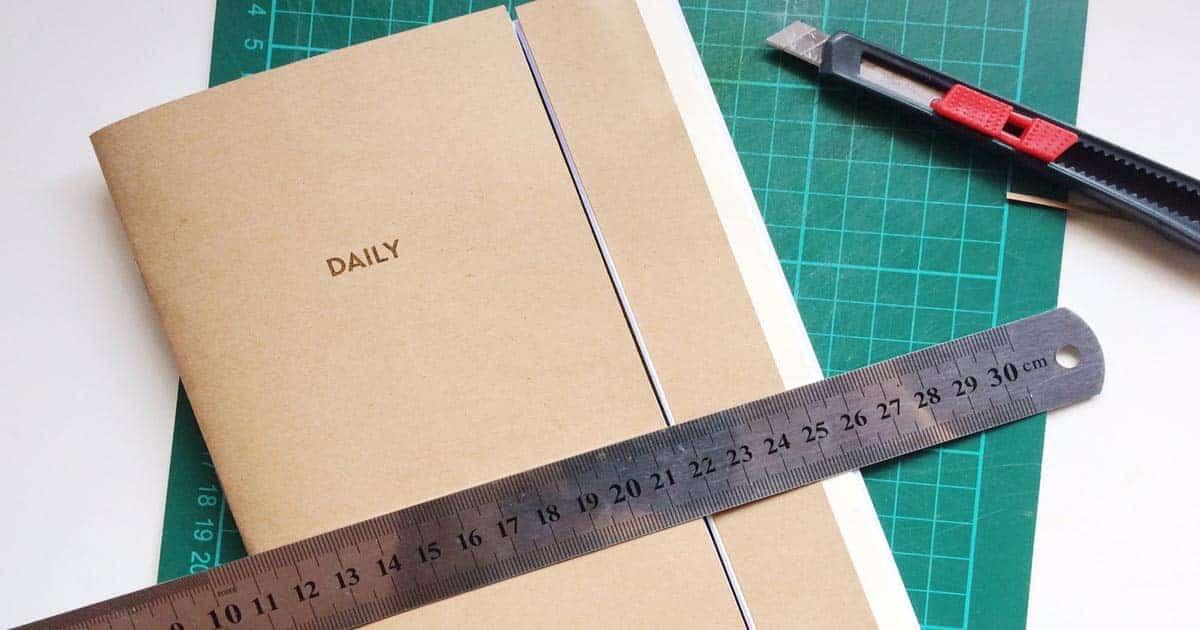 วิธีการทำสมุดเล่มเล็ก, วิธีทำสมุดเล่มเล็กเก๋ๆ