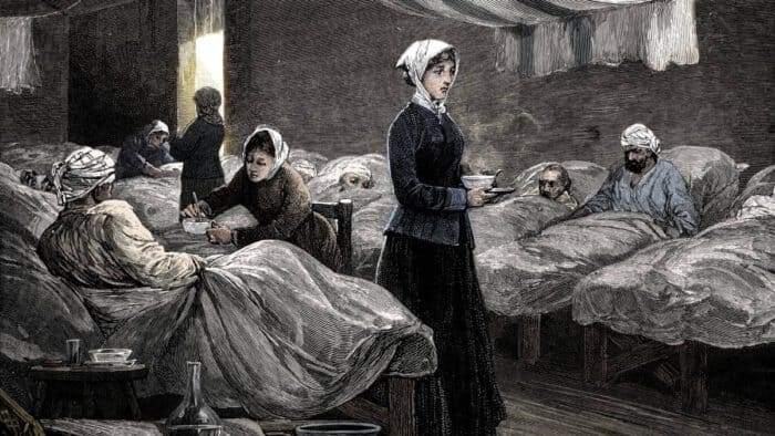 ฟลอเรนซ์ ไนติงเกล, วิชาชีพพยาบาล