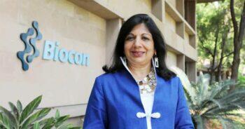 ช่วยเหลือสังคม, Kiran Mazumdar Shaw ประวัติ