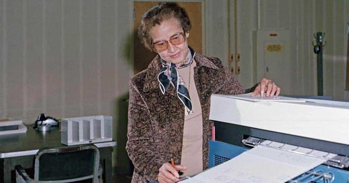 Katherine Johnson นักคณิตศาสตร์โลก ผู้นำนักบินอวกาศไปสำรวจดวงจันทร์