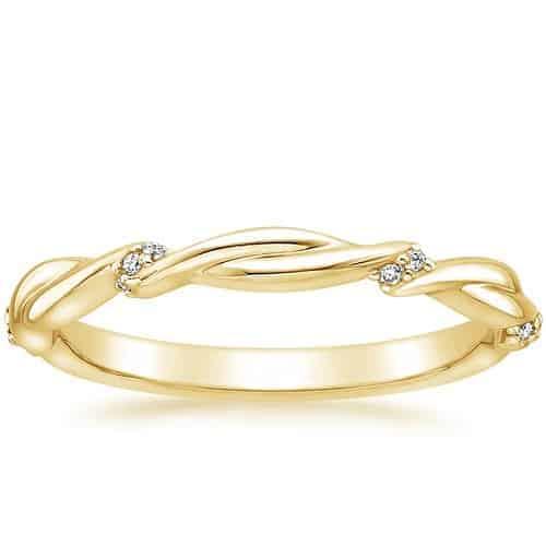 แหวนหมั้นทอง, แหวนทองหมั้น