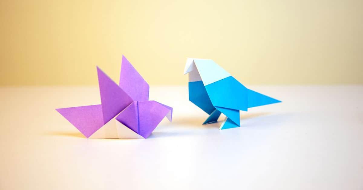 วิธีพับกระดาษเป็นรูปต่างๆ, วิธีพับกระดาษสวยๆ